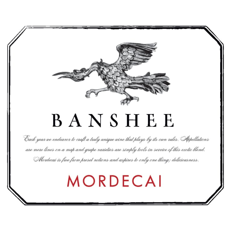 Banshee Mordecai Proprietary Red 2014 Front Label