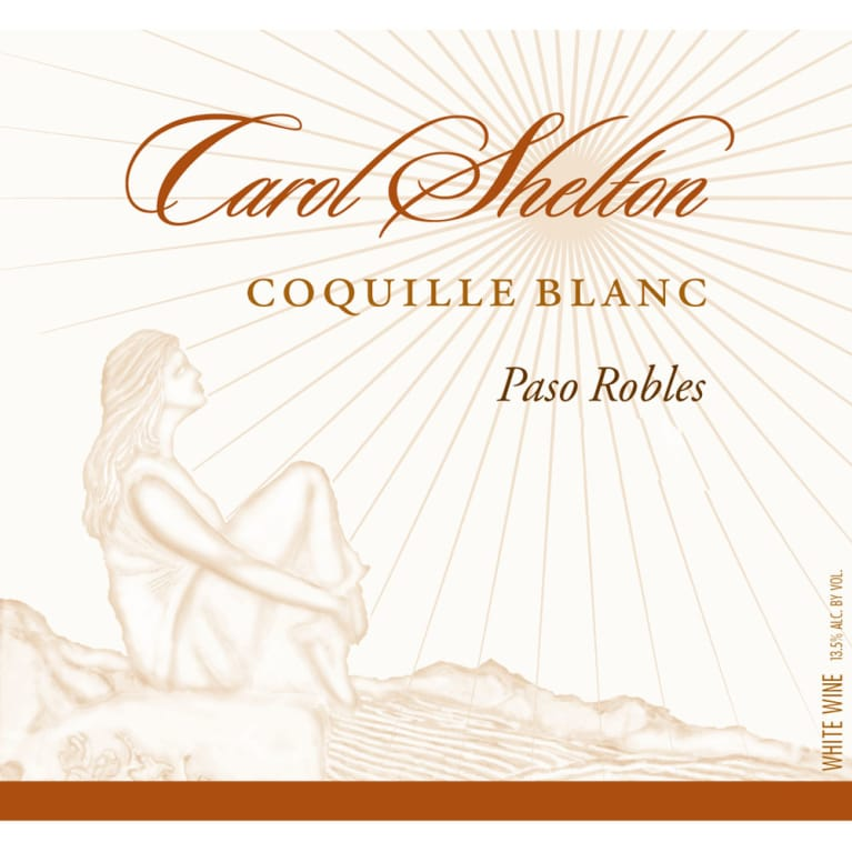 Carol Shelton Coquille Blanc 2013 Front Label