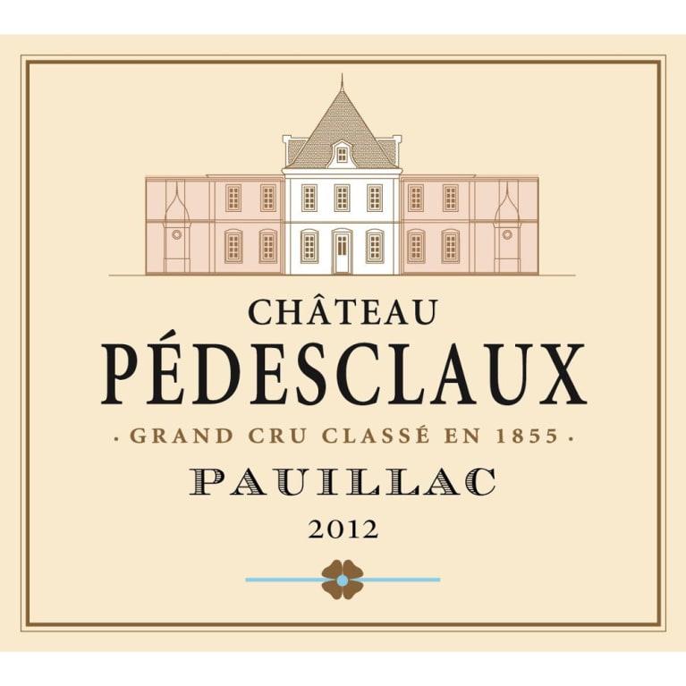 Chateau Pedesclaux 2012 Wine Com