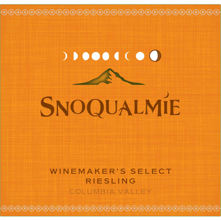 Snoqualmie Winemaker's Select Riesling 2014 Front Label