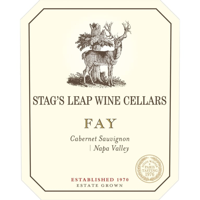 Stag's Leap Wine Cellars Fay Vineyard Cabernet Sauvignon 2013 Front Label