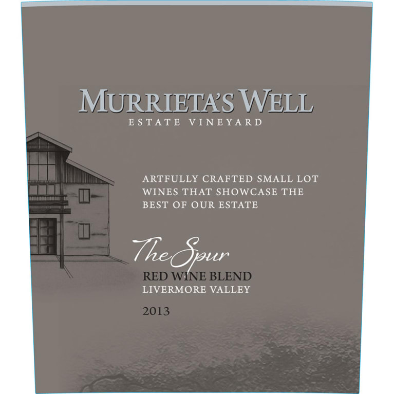 Murrieta's Well The Spur 2013 Front Label
