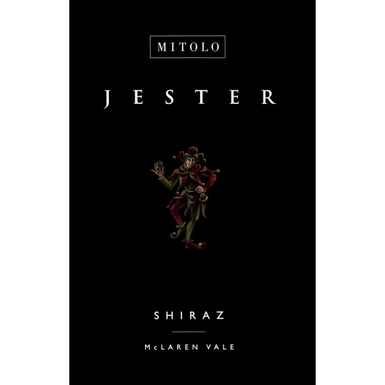Mitolo The Jester Shiraz 2014 Front Label