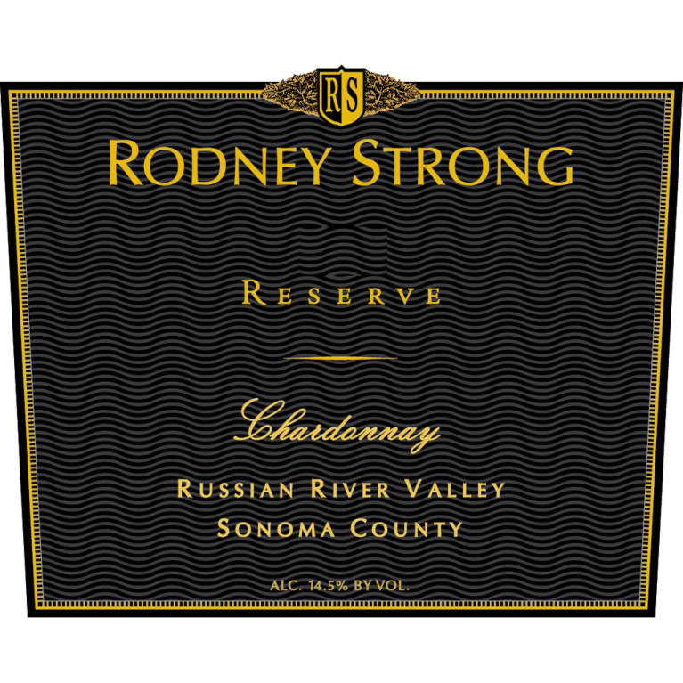 Rodney Strong Reserve Chardonnay 2013 Front Label