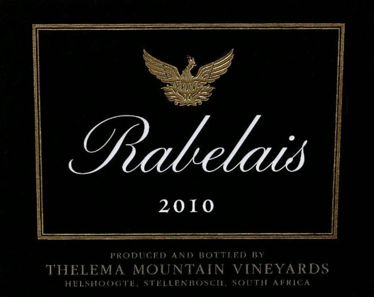 Thelema Rabelais 2010 Front Label