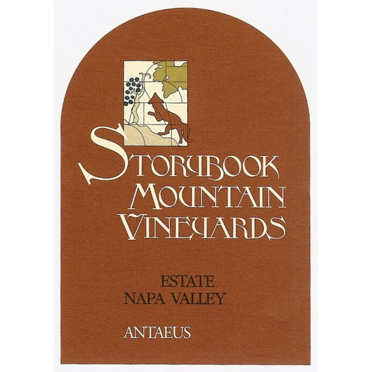 Storybook Mountain Antaeus 2012 Front Label