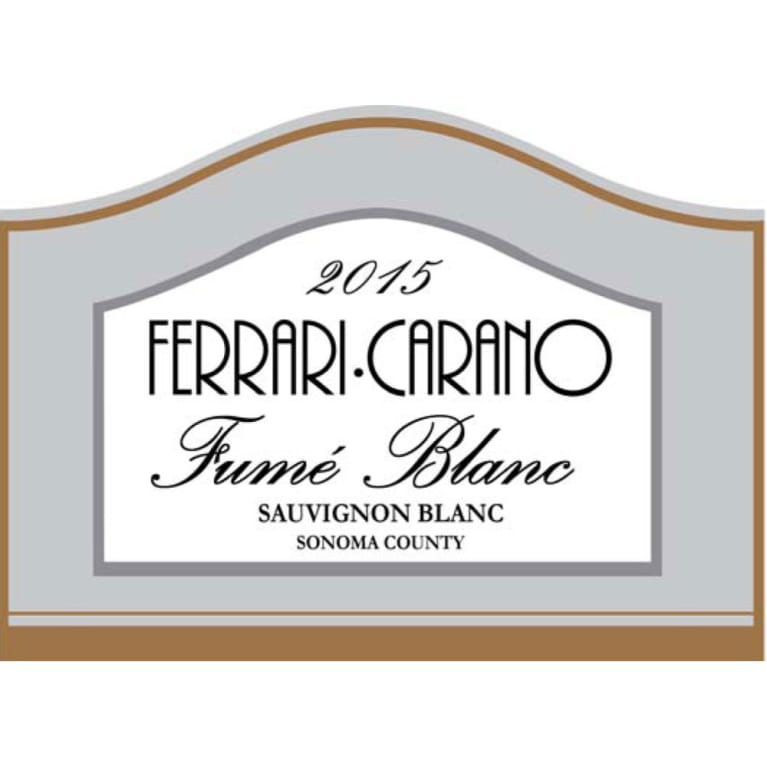 Ferrari Carano Fume Blanc 2015 Wine Com