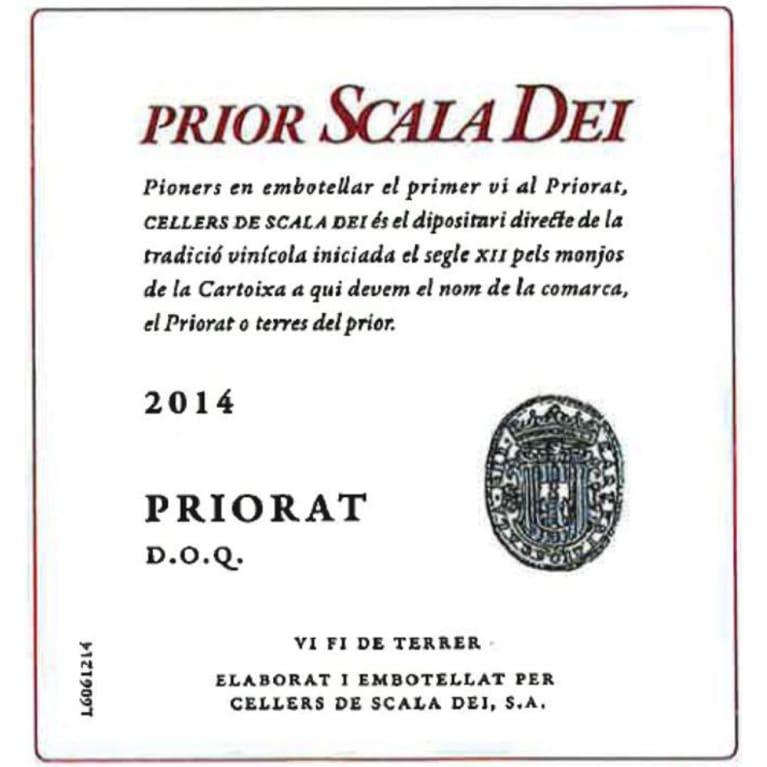 Scala Dei Priorat Prior 2014 Wine