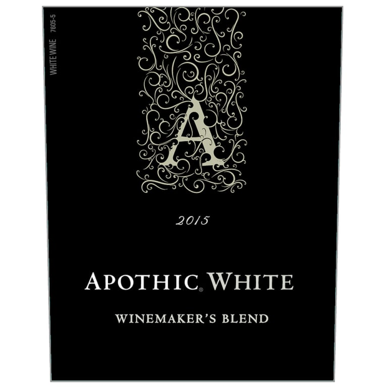 Apothic White Blend 2015 Front Label