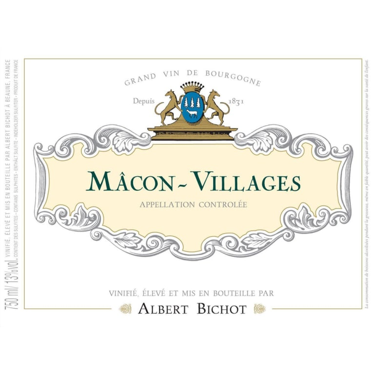 Albert Bichot Macon-Villages 2015 Front Label