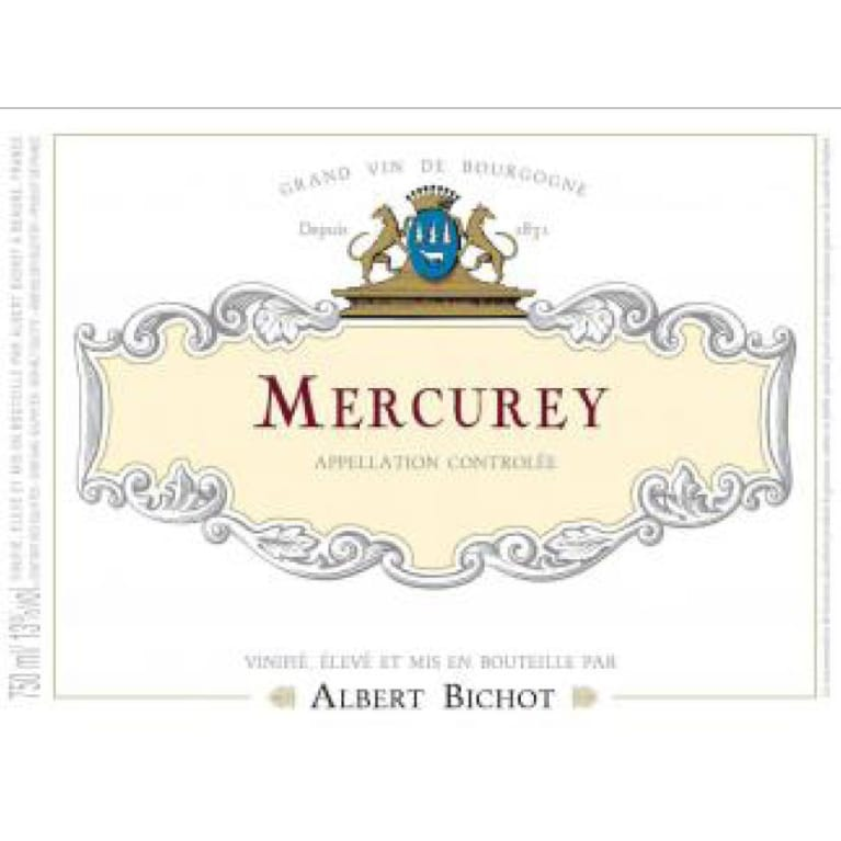 Albert Bichot Mercurey 2014 Front Label