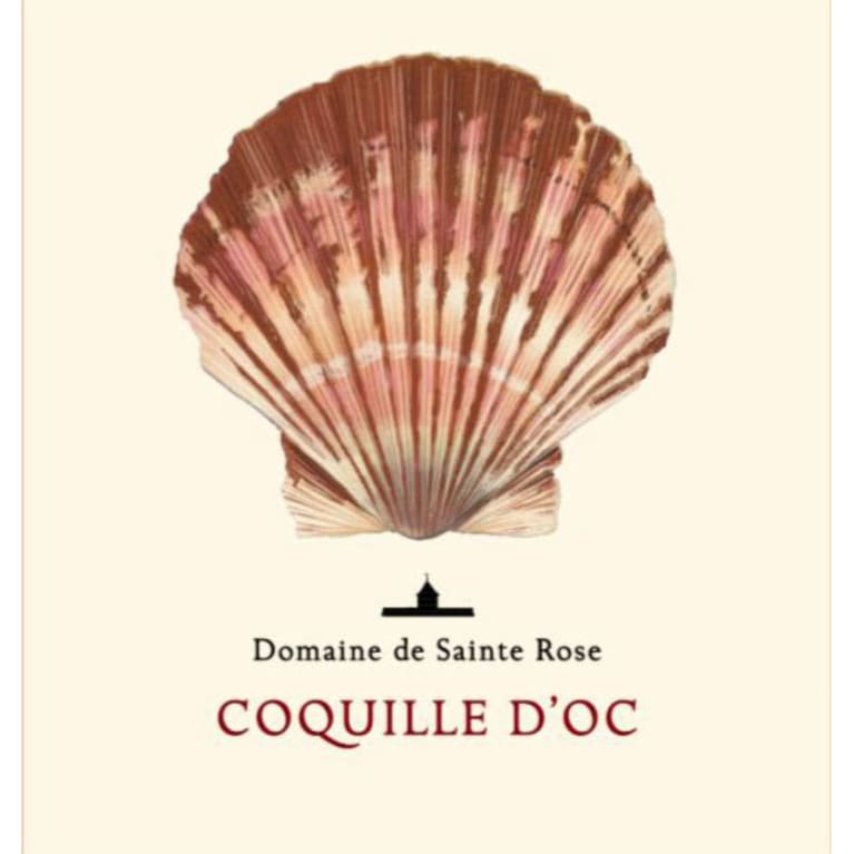 Domaine Sainte Rose Coquille d'Oc Rouge 2012 Front Label