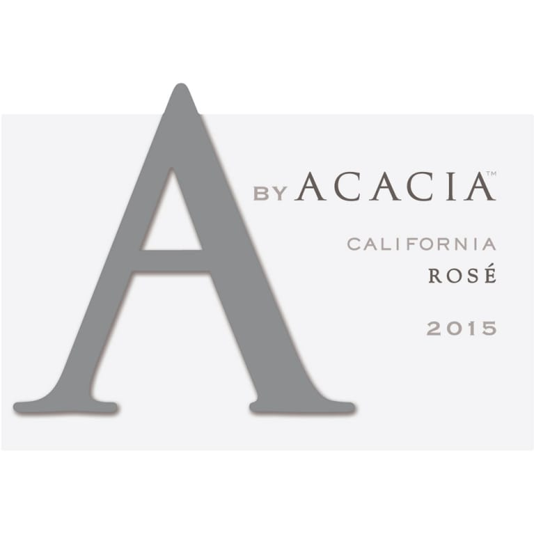 A by Acacia Rose of Pinot Noir  2015 Front Label