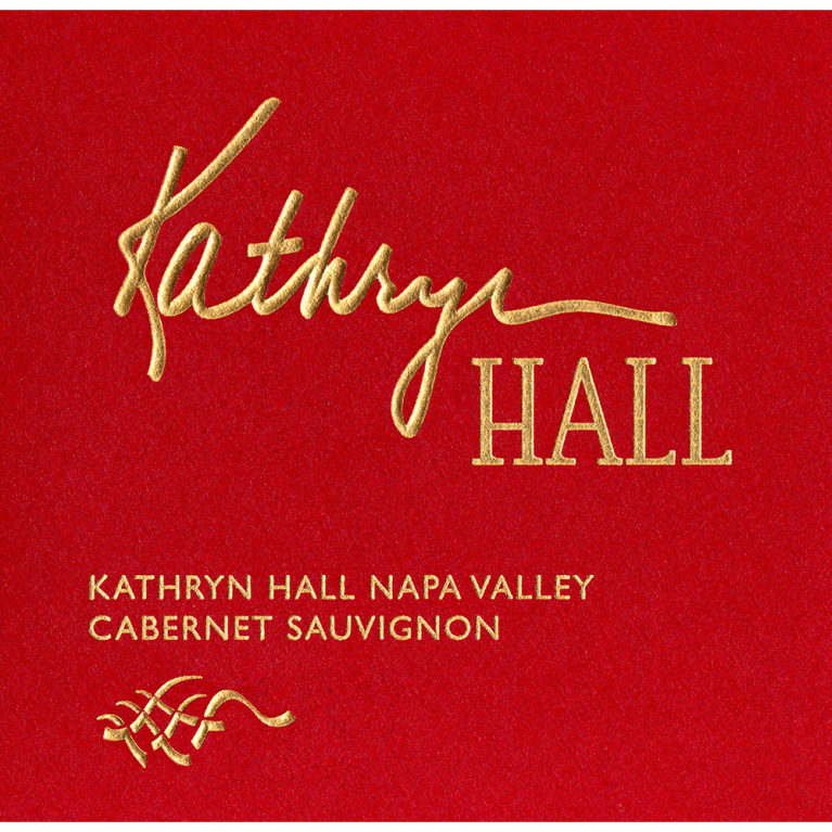 Hall Kathryn Hall Cabernet Sauvignon (3 Liter Bottle) 2013 Front Label