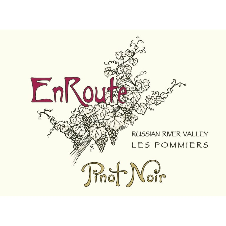 EnRoute Winery Les Pommiers Pinot Noir 2014 Front Label