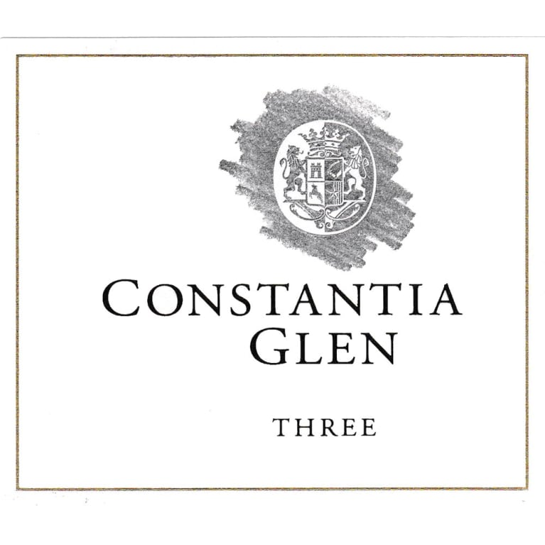 Constantia Glen Three 2011 Front Label