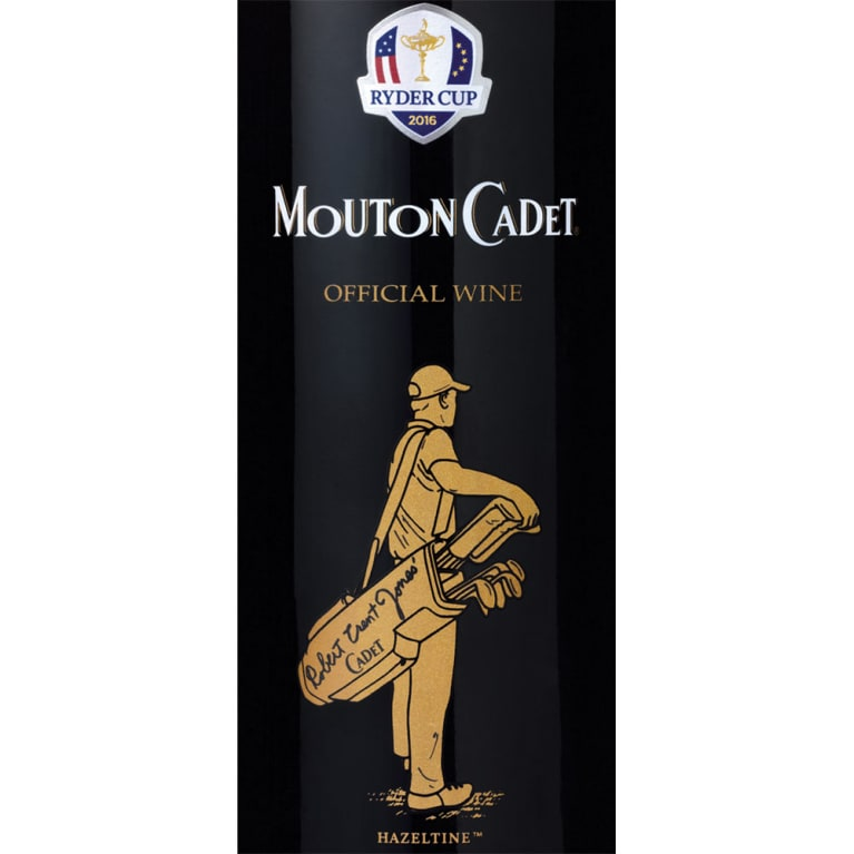 Mouton Cadet Ryder Cup Selection 2014 Front Label