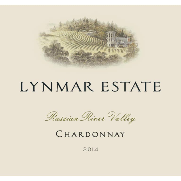 Lynmar Winery Russian River Chardonnay 2014 Front Label
