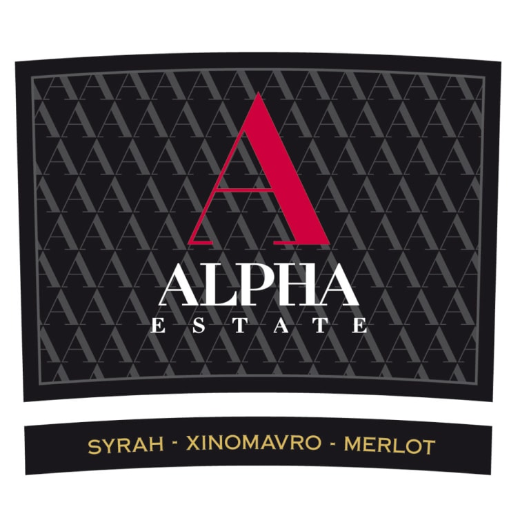 Alpha Estate SMX Red Blend 2012 Front Label