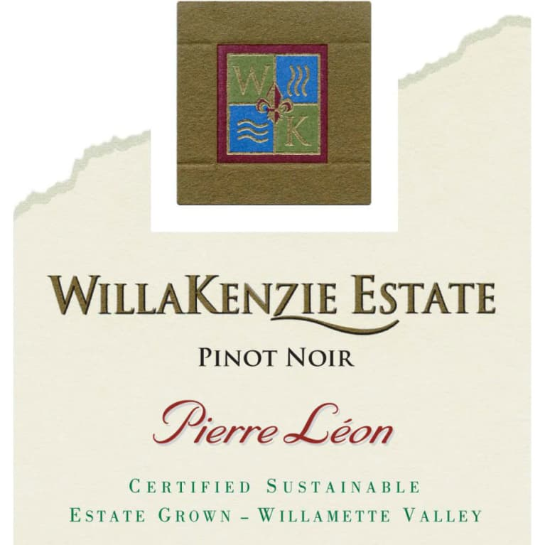 WillaKenzie Estate Pierre Leon Pinot Noir 2013 Front Label