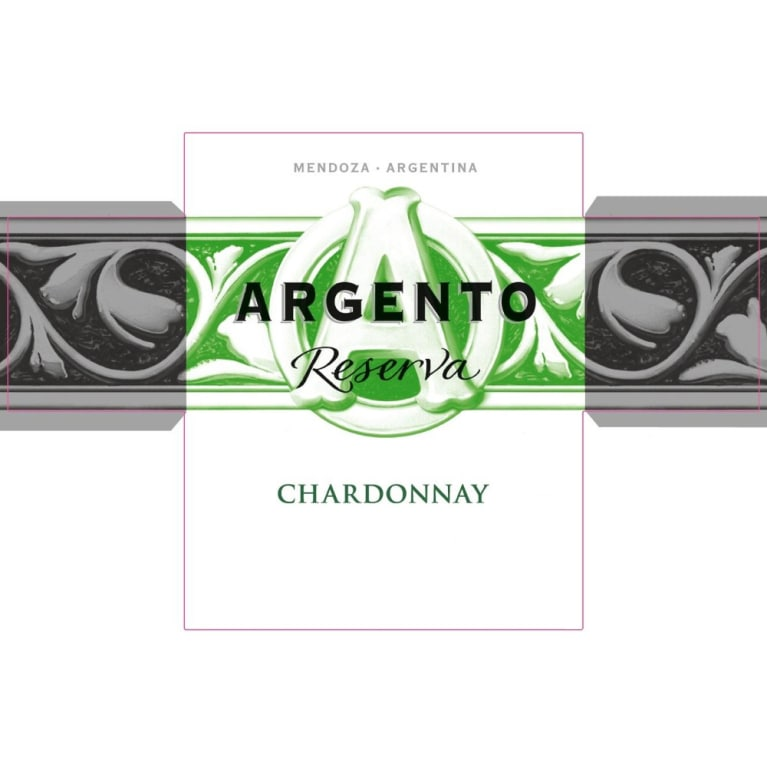 Argento Reserva Chardonnay 2014 Front Label