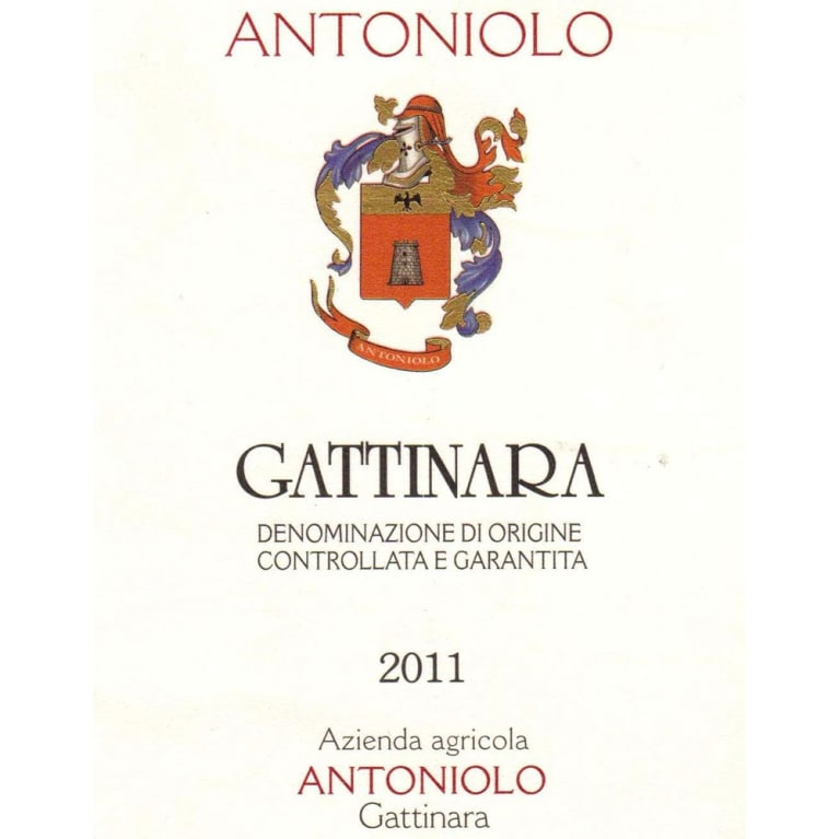 Antoniolo Gattinara 2011 Front Label