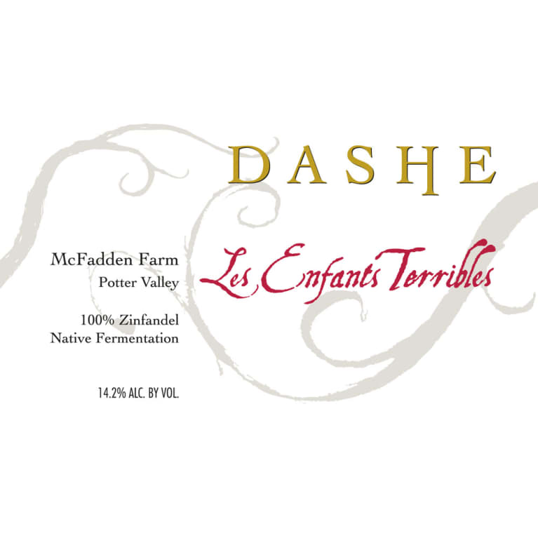 Dashe McFadden Farm Les Enfants Terribles Zinfandel 2014 Front Label