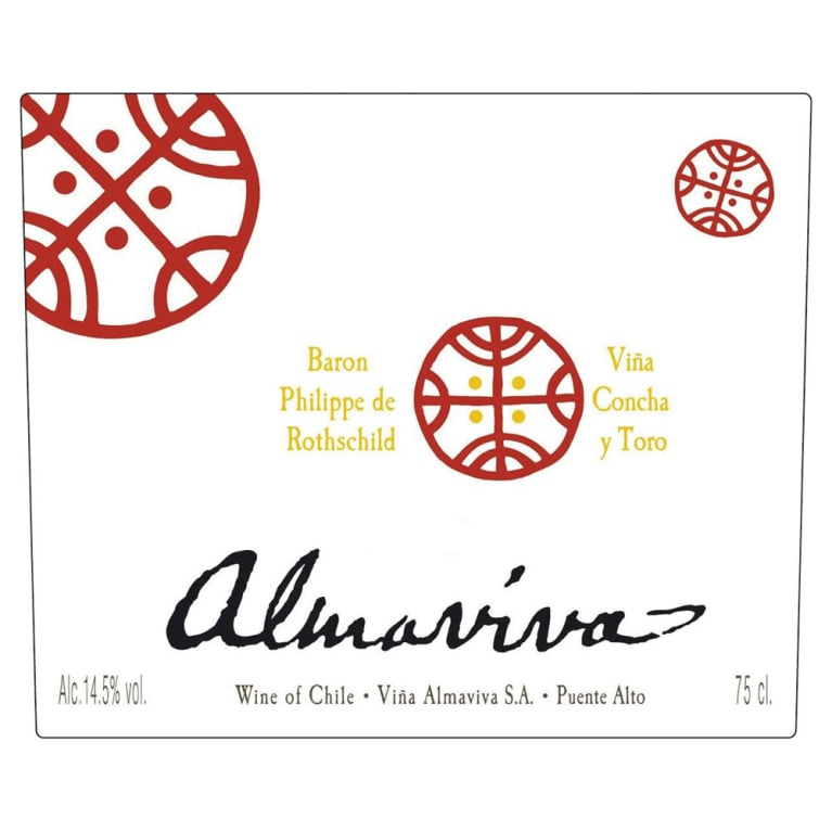 Almaviva Red 1996 Front Label