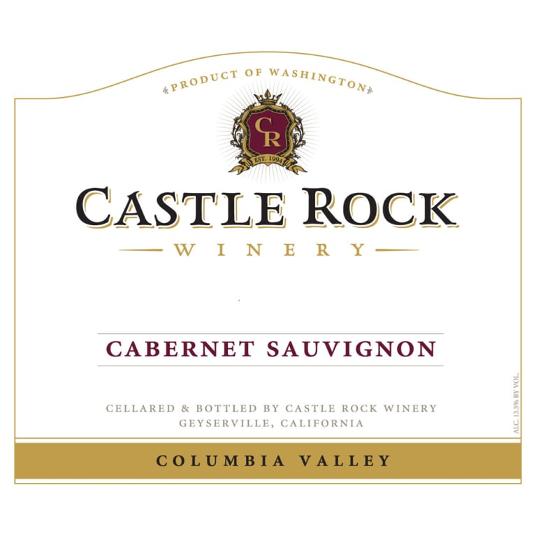 Castle Rock Columbia Valley Cabernet Sauvignon 2012 Front Label