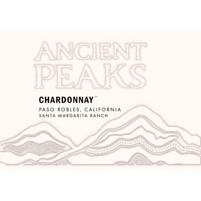 Ancient Peaks Chardonnay 2015 Front Label