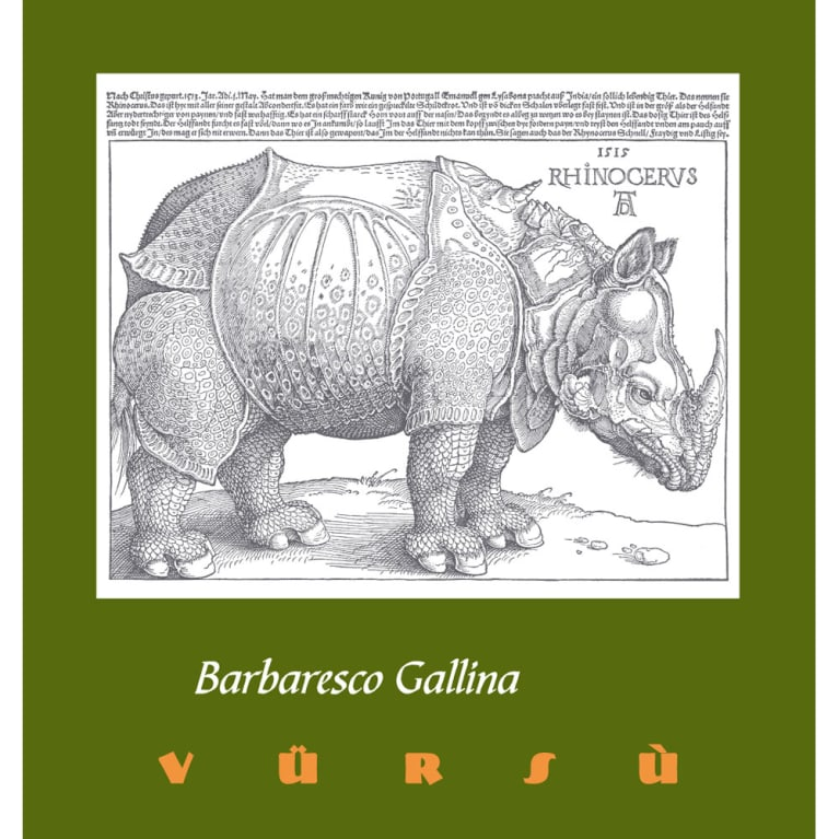La Spinetta Barbaresco Gallina 2012 Front Label