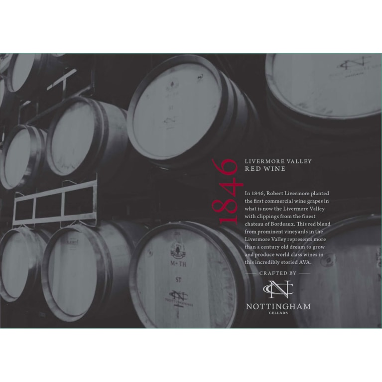 1846 Red Blend 2013 Front Label