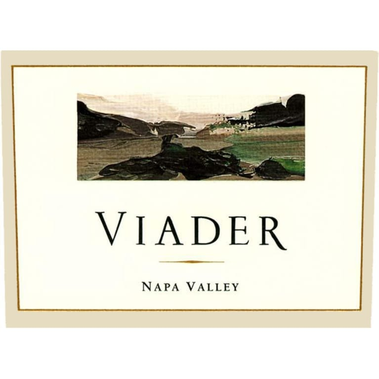 Viader Proprietary Red 1998 Front Label