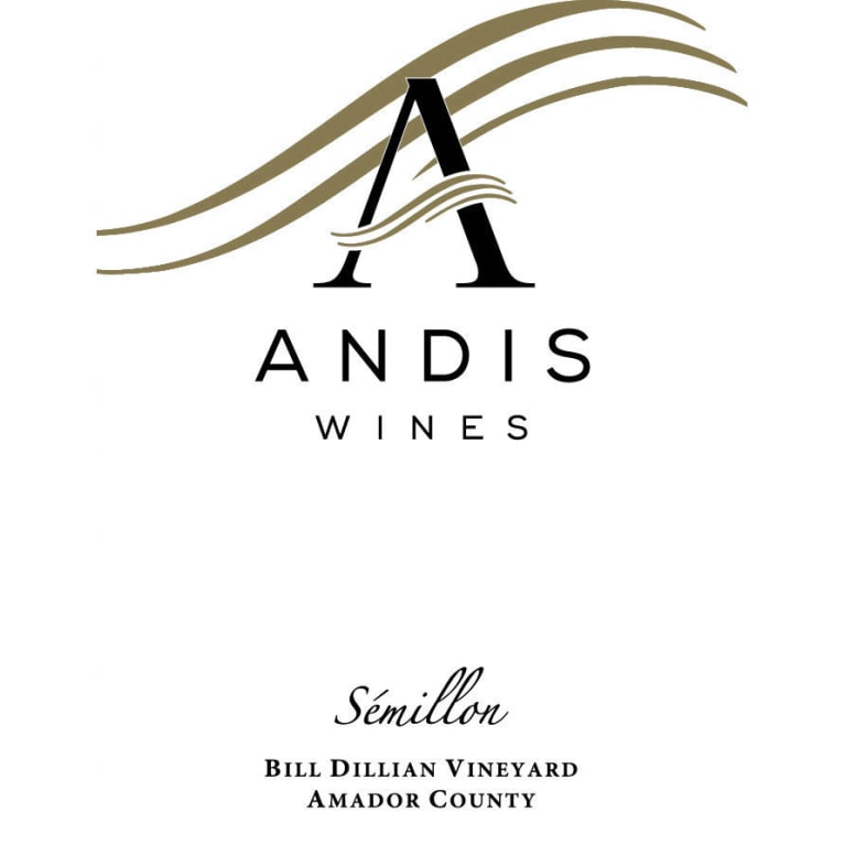 Andis Semillon 2014 Front Label