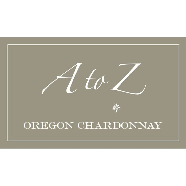 A to Z Chardonnay 2015 Front Label