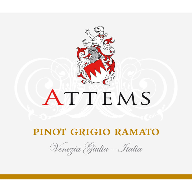 Attems Ramato Pinot Grigio 2015 Front Label