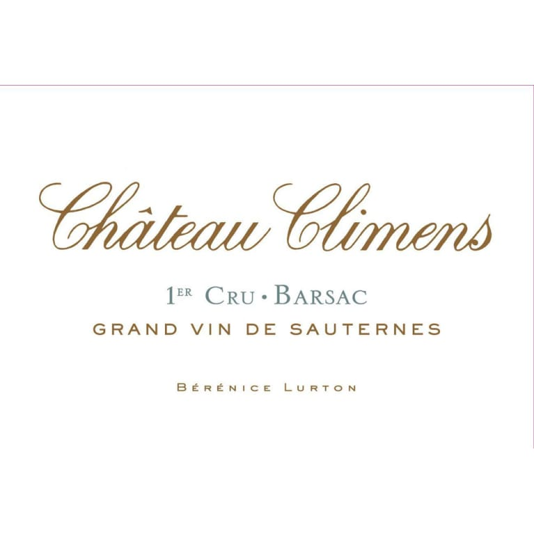 Chateau Climens  2013 Front Label