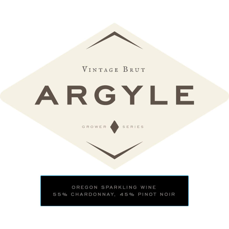 Argyle Brut 2013 Front Label