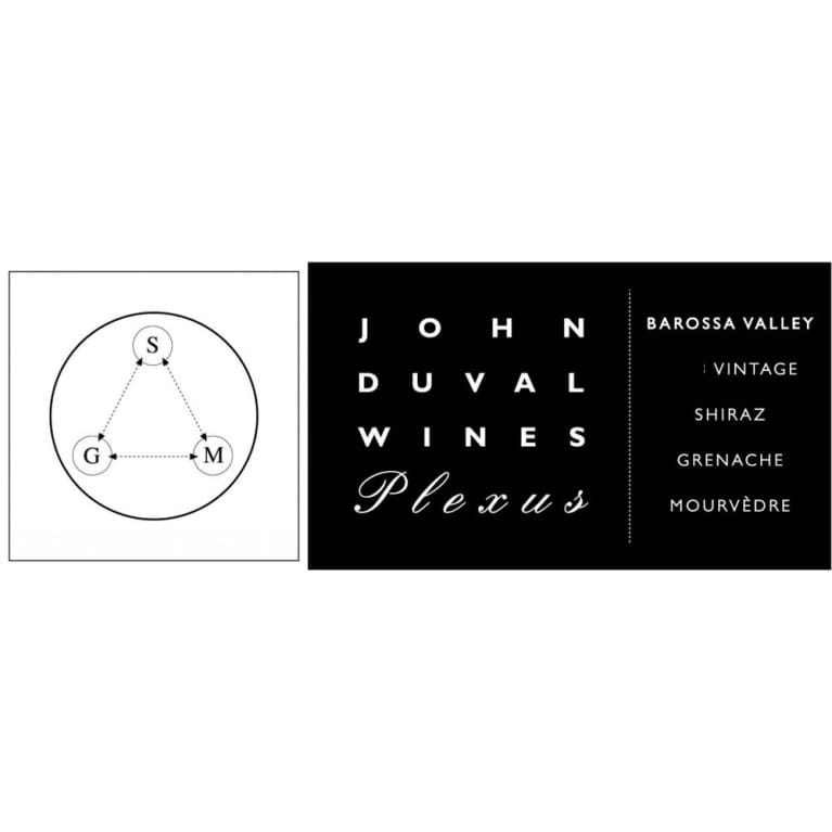 John Duval Plexus Red 2014 Front Label