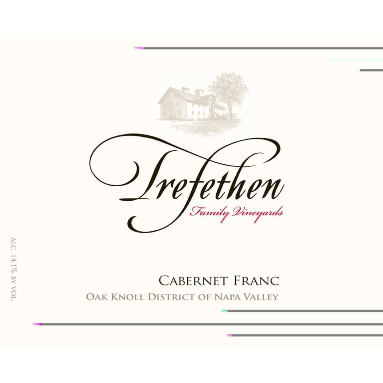 Trefethen Estate Cabernet Franc 2014 Front Label