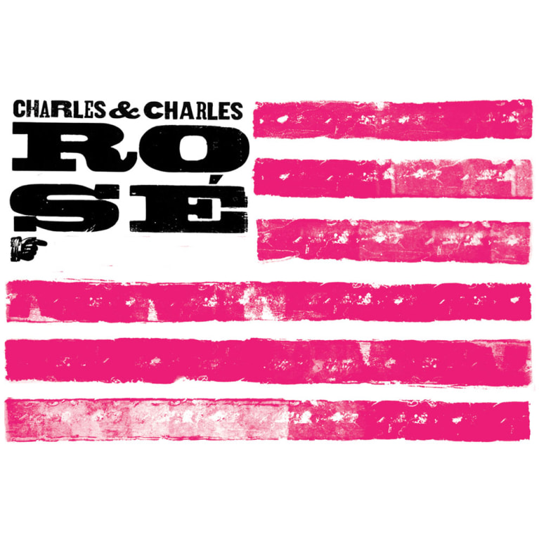 Charles & Charles Rose 2016 Front Label