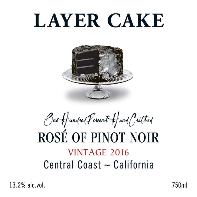 Layer Cake Rose Of Pinot Noir 2016 Wine Com