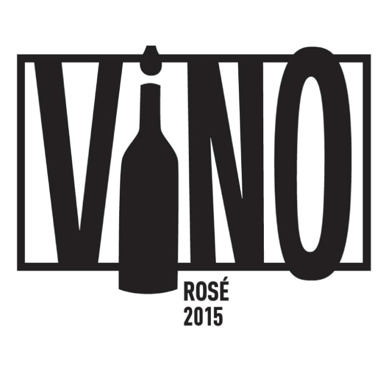 Casa Smith ViNO Rose 2015 Front Label