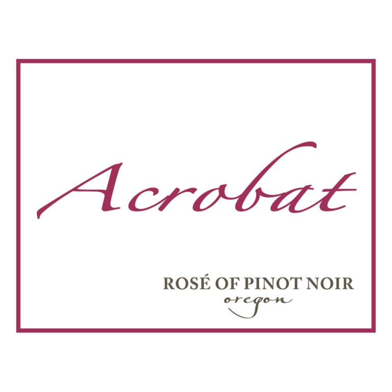 Acrobat Rose of Pinot Noir 2016 Front Label