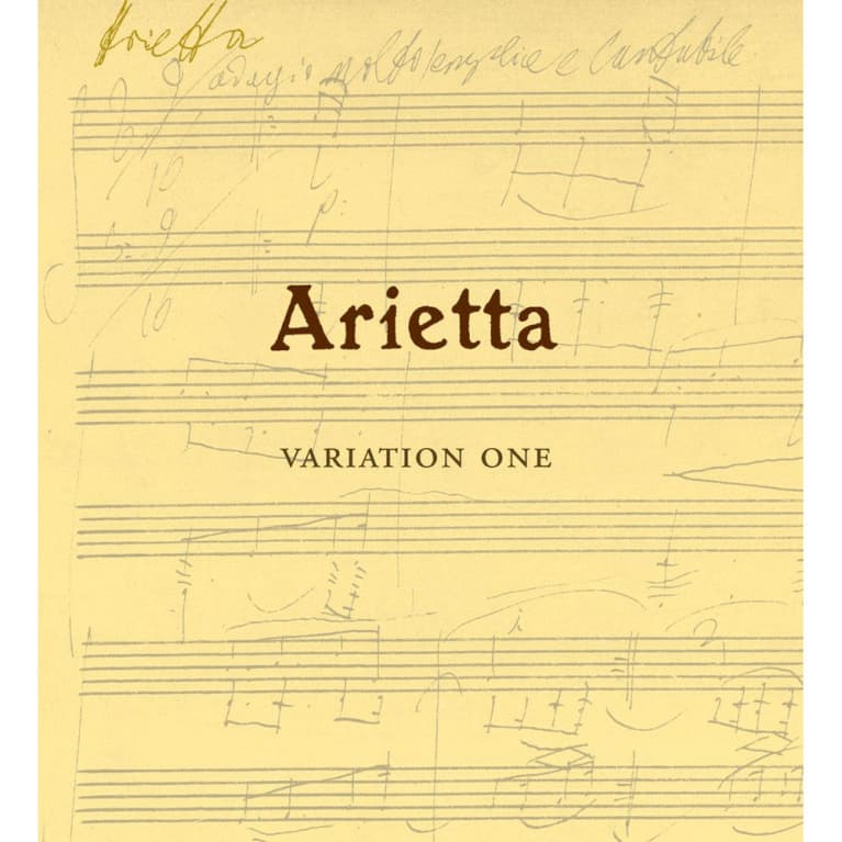 Arietta Variation One 2013 Front Label