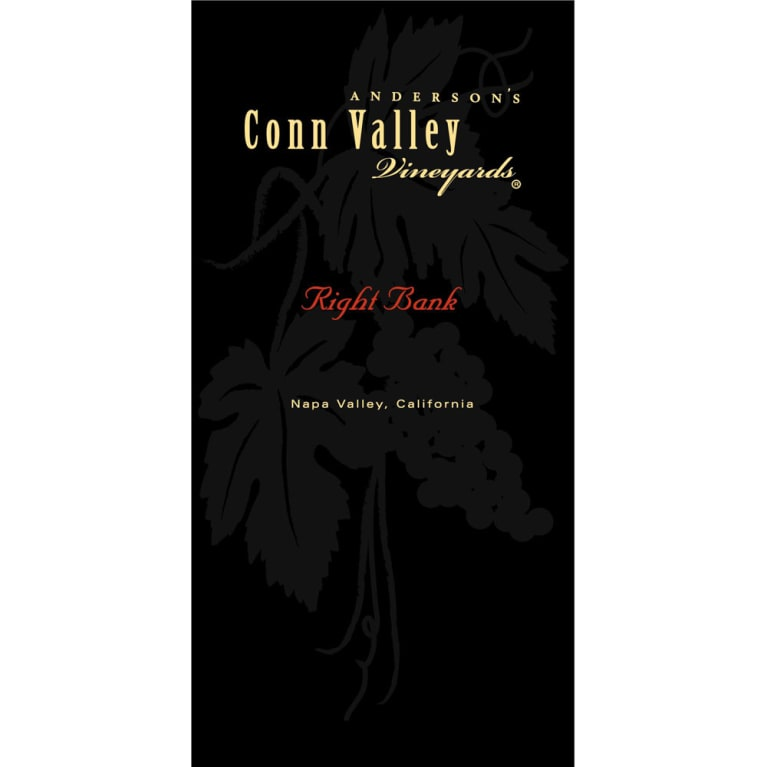 Anderson's Conn Valley Vineyards Right Bank Proprietary Red Blend 2014 Front Label