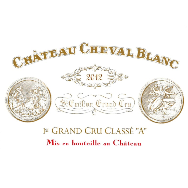 Chateau Cheval Blanc  2012 Front Label