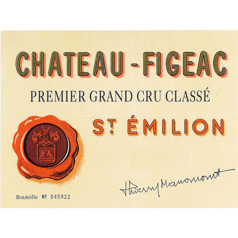 Chateau Figeac (3 Liter) 2010 Front Label