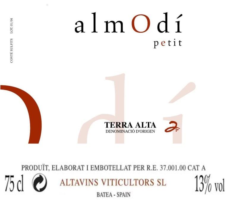 Altavins Almodi Petit Blanco 2015 Wine Com