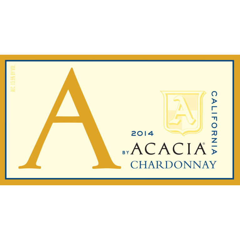 A by Acacia California Chardonnay 2014 Front Label